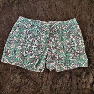 Dalia Paisley Shorts